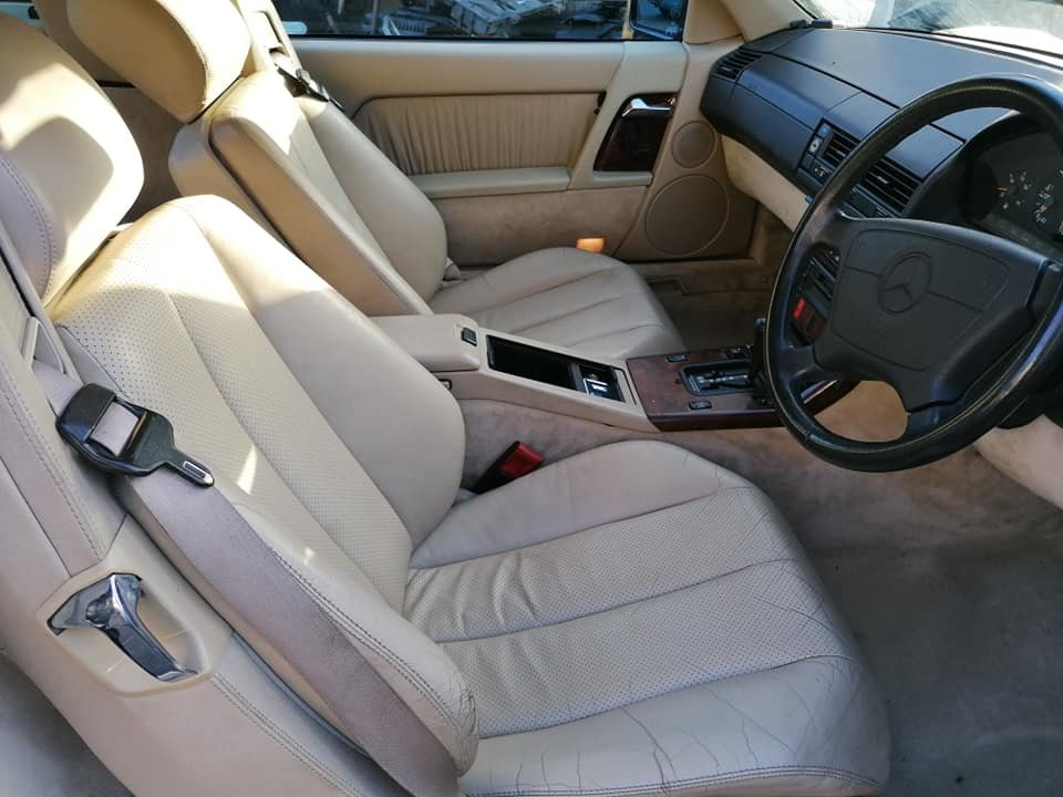 1994 Mercedes Benz SL280, Low Milage, FSH, MOT For Sale (picture 5 of 6)