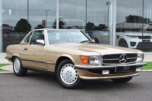 1987 Mercedes R107 500 sl-28000 miles-pristine example For Sale