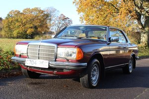 Mercedes 280CEW Auto 1986 - To be auctioned 31-01-20 For Sale by Auction