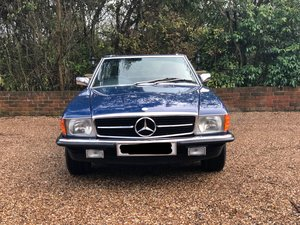 1985 Mercedes-Benz 500SL with hardtop + SL500 SL 500 For Sale