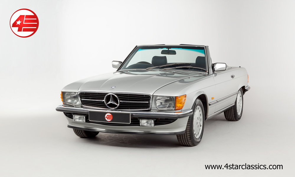 1989 Mercedes R107 300SL /// Outstanding /// 27k Miles For Sale (picture 1 of 6)