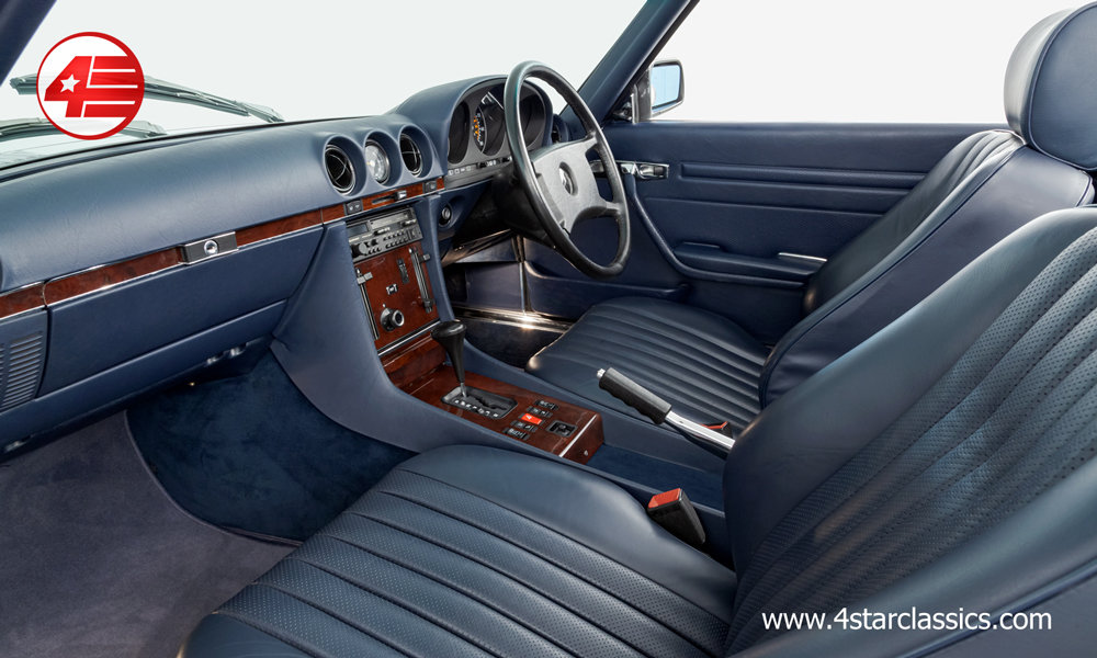 1989 Mercedes R107 300SL /// Outstanding /// 27k Miles For Sale (picture 4 of 6)