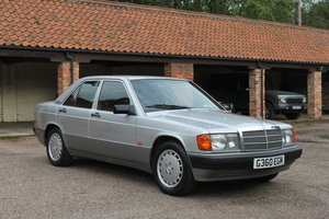 1990 Mercedes 190E with 81000 miles and superb history For Sale