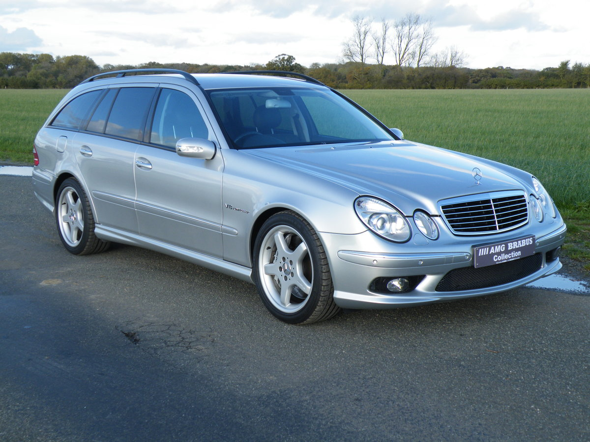 2004 Mercedes E55 AMG Estate For Sale (picture 1 of 6)