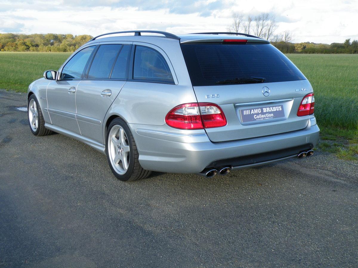 2004 Mercedes E55 AMG Estate For Sale (picture 2 of 6)