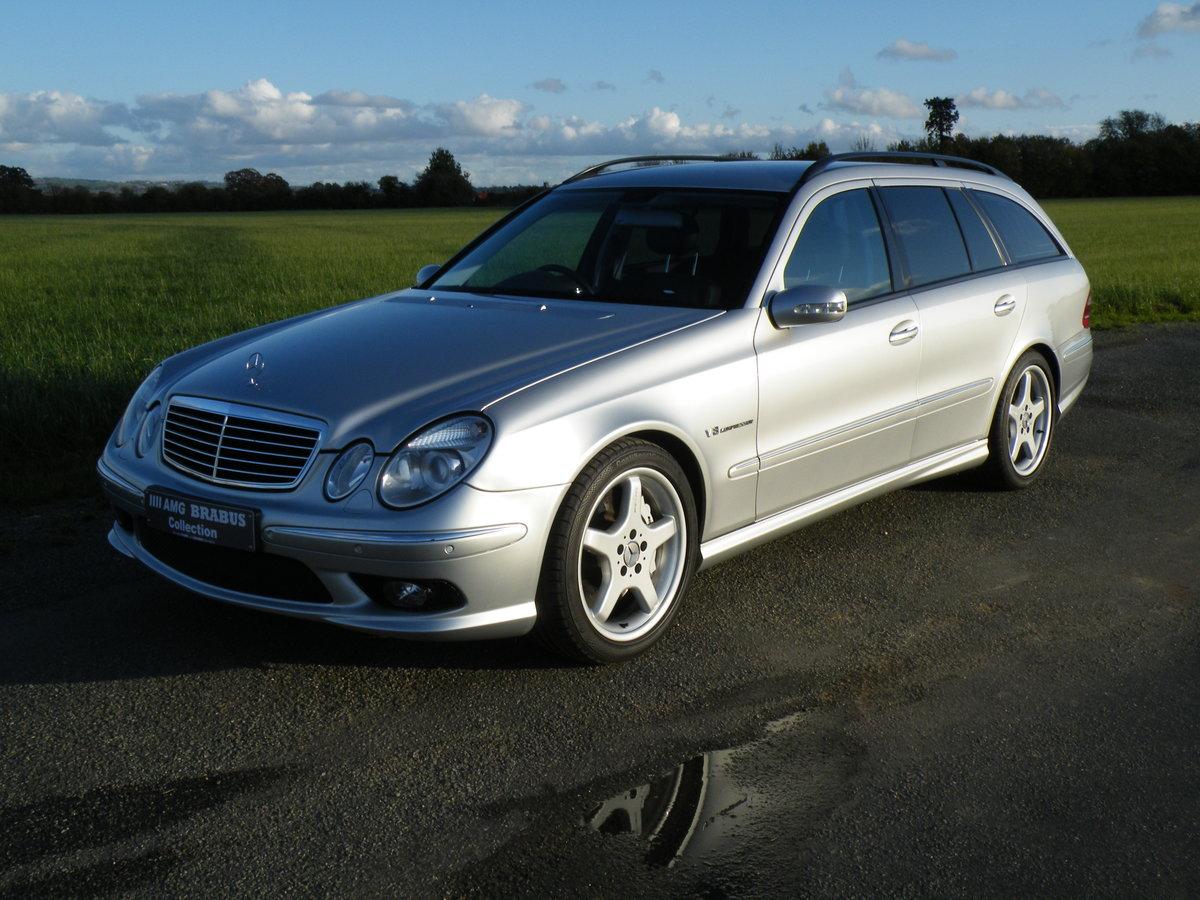 2004 Mercedes E55 AMG Estate For Sale (picture 3 of 6)