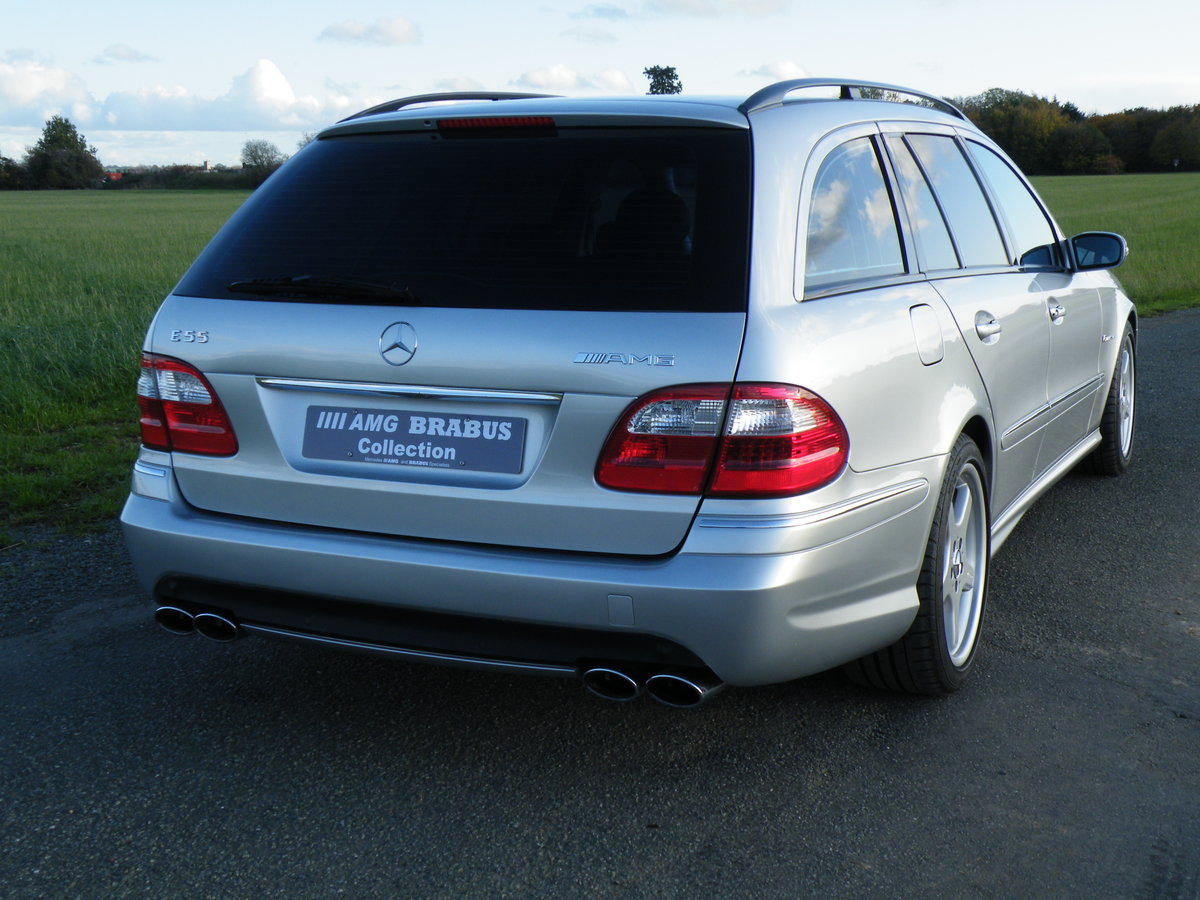 2004 Mercedes E55 AMG Estate For Sale (picture 4 of 6)