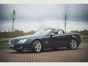 Mercedes-Benz SL 500 Class (2003) For Sale