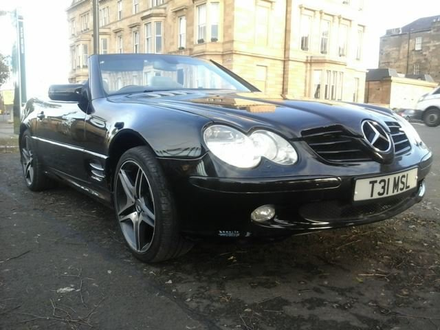 2000 SL320 Dreamcars Baveria SLR conversion LPG For Sale (picture 1 of 6)