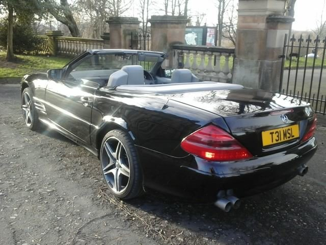 2000 SL320 Dreamcars Baveria SLR conversion LPG For Sale (picture 5 of 6)