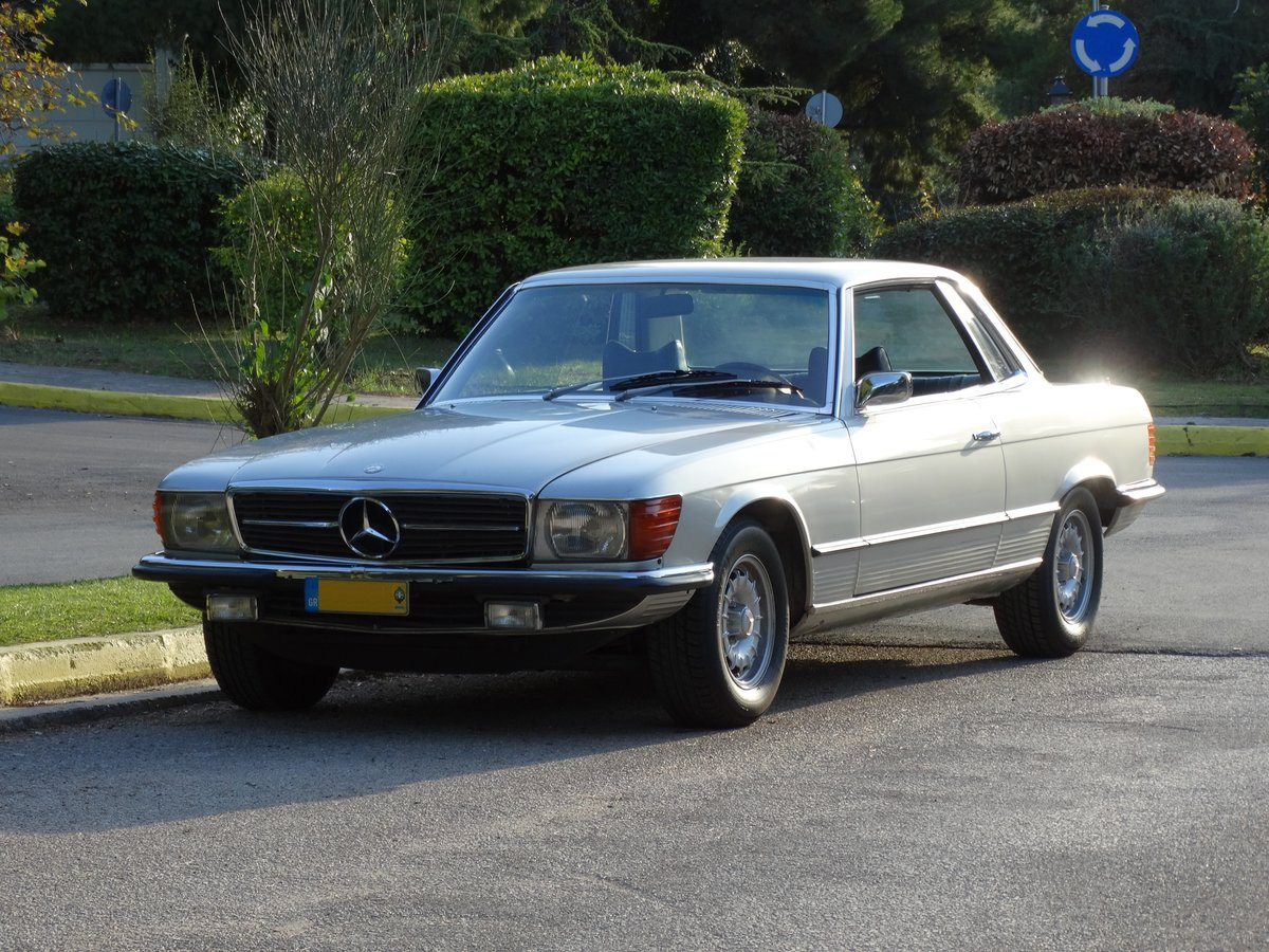 1974 Mercedes-Benz 450 SLC, Astral silver, totally original For Sale (picture 1 of 6)