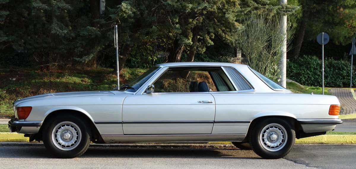 1974 Mercedes-Benz 450 SLC, Astral silver, totally original For Sale (picture 2 of 6)