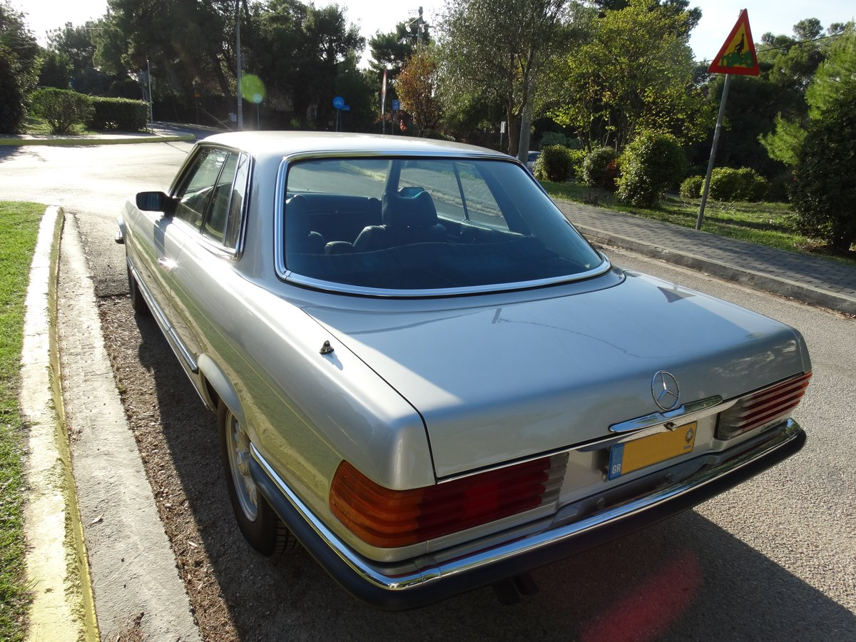 1974 Mercedes-Benz 450 SLC, Astral silver, totally original For Sale (picture 3 of 6)