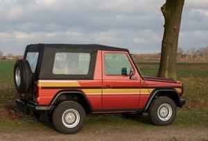 1986 Mercedes G, Mercedes 230 GE, Mercedes 4x4, Mercedes SOLD