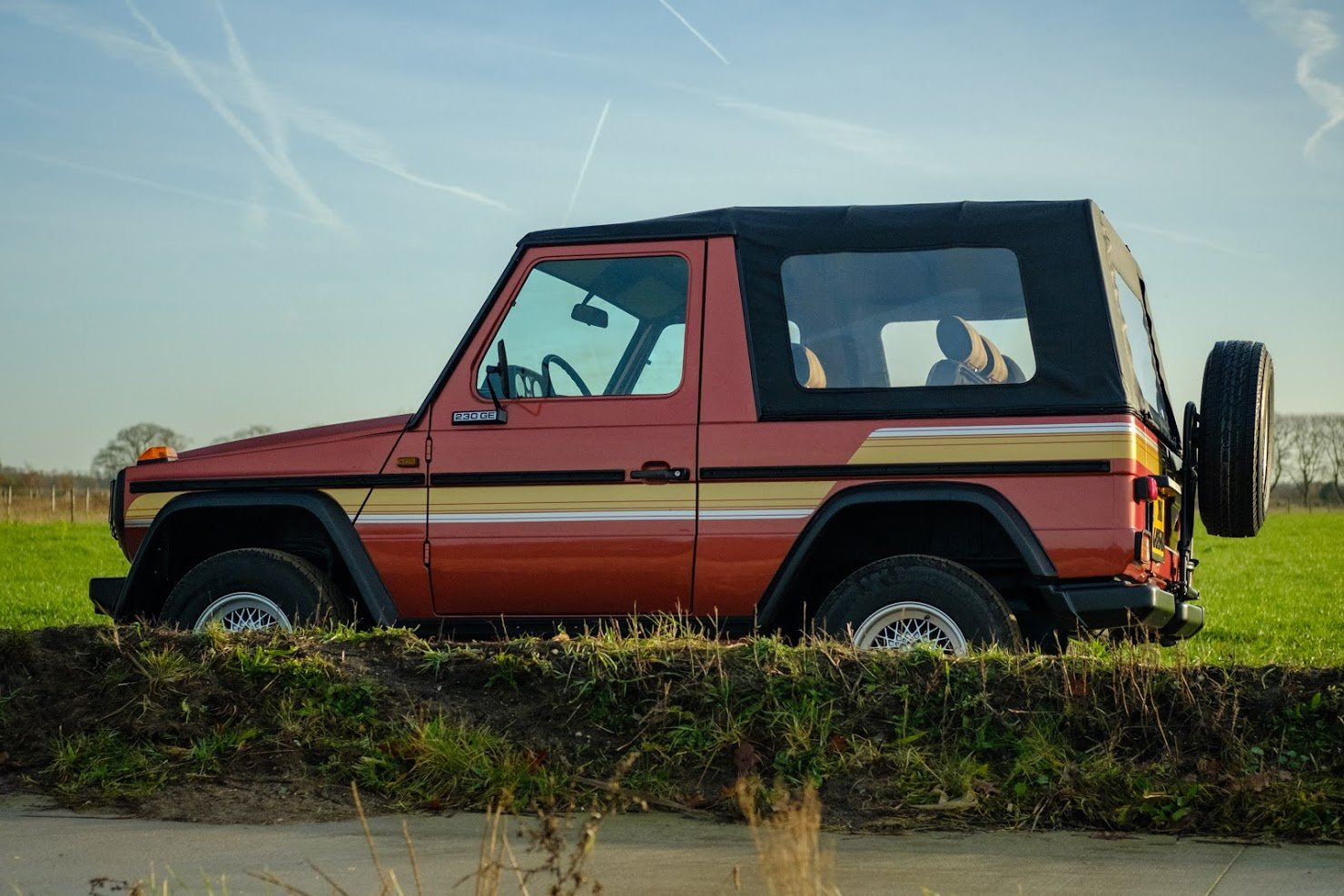1986 Mercedes G, Mercedes 230 GE, Mercedes 4x4, Mercedes SOLD (picture 3 of 4)