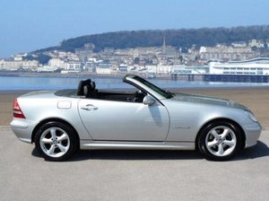 2003 SLK230 Kompressor, Low Mileage, FMBSH, 2 Owners For Sale