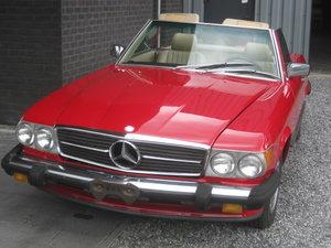 Mercedes sl 560 cabrio last model 107 ! 1989 bobby Ewing