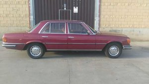 1972 Mercedes Benz 350SE with only 154.000km. For Sale