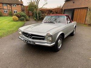 1970 Mercedes 280SL automatic RHD Stunning 180G Silver