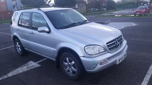 2003 (03) Mercedes ML500 For Sale