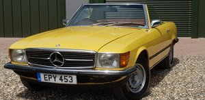 1973 LOVELY  SL350  IN  FACTORY  YELLOW  LOW  MILES  FSH  For Sale (picture 2 of 6)