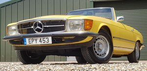 1973 LOVELY  SL350  IN  FACTORY  YELLOW  LOW  MILES  FSH  For Sale (picture 3 of 6)