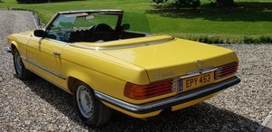1973 LOVELY  SL350  IN  FACTORY  YELLOW  LOW  MILES  FSH  For Sale (picture 5 of 6)