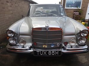 1970 W108 280 se For Sale