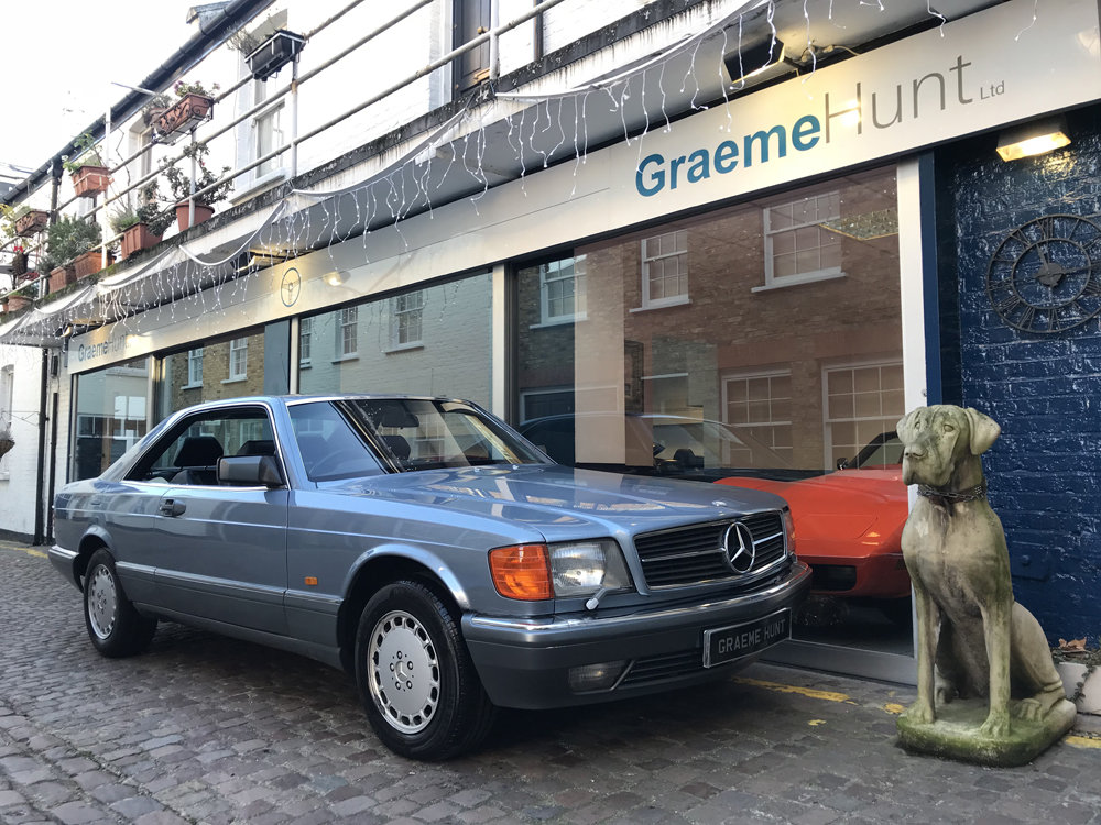 1988 Mercedes Benz 420SEC For Sale (picture 1 of 20)