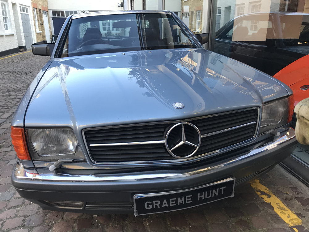 1988 Mercedes Benz 420SEC For Sale (picture 10 of 20)