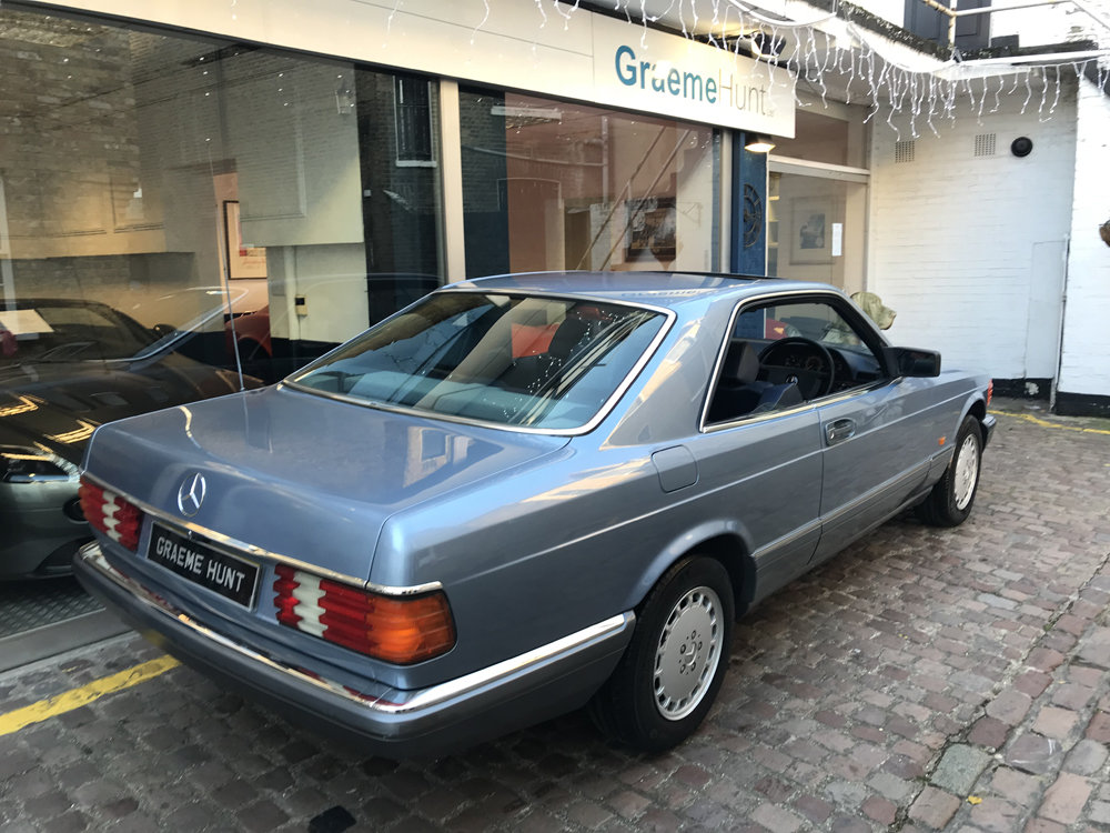 1988 Mercedes Benz 420SEC For Sale (picture 14 of 20)
