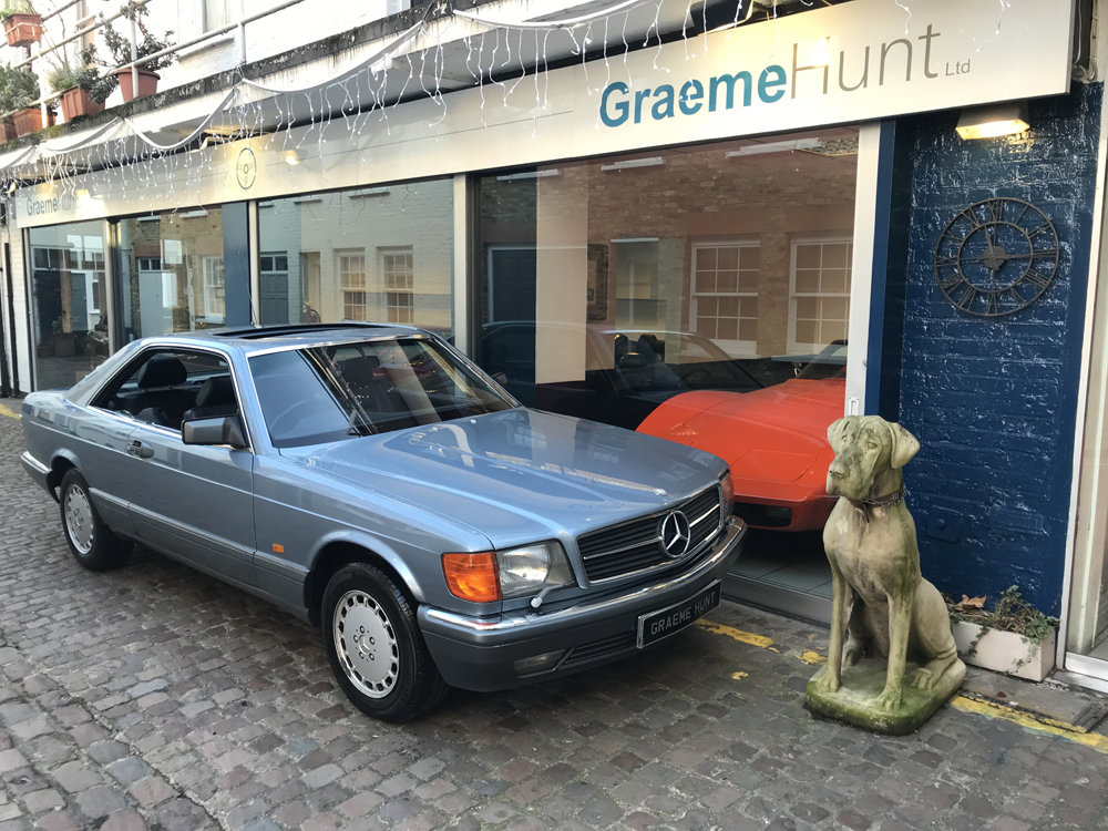 1988 Mercedes Benz 420SEC For Sale (picture 16 of 20)
