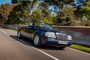 1996 Mercedes W124 E220 Cabriolet - Magazine Cover Car For Sale