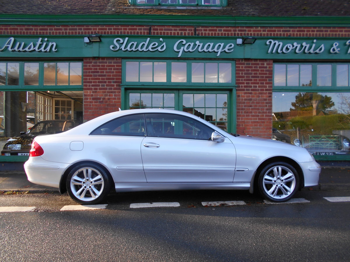2006 Mercedes CLK 220CDI Coupe Avangarde  SOLD (picture 1 of 6)