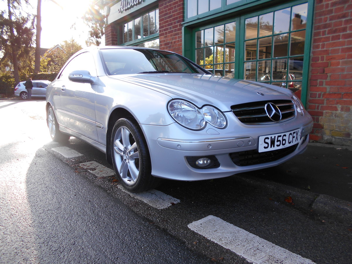 2006 Mercedes CLK 220CDI Coupe Avangarde  SOLD (picture 2 of 6)
