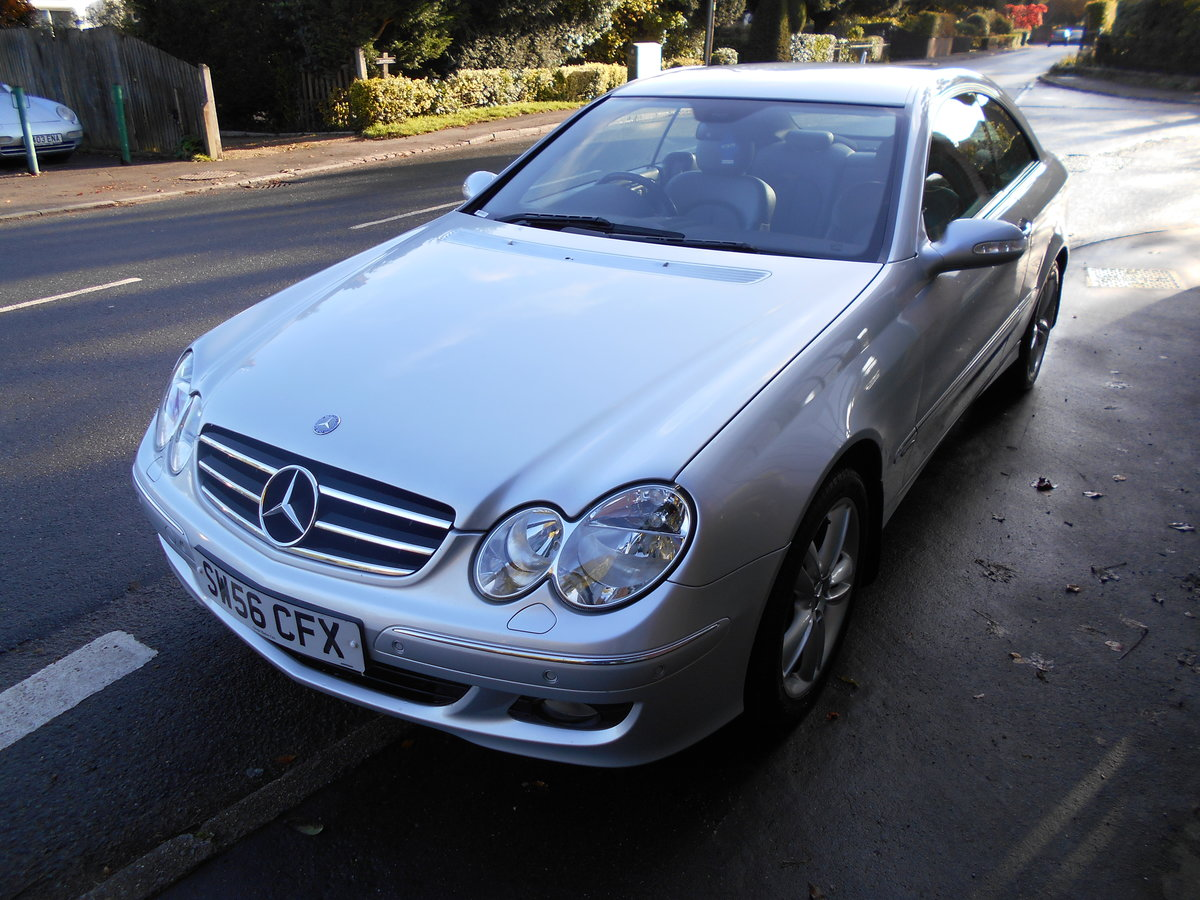 2006 Mercedes CLK 220CDI Coupe Avangarde  SOLD (picture 5 of 6)