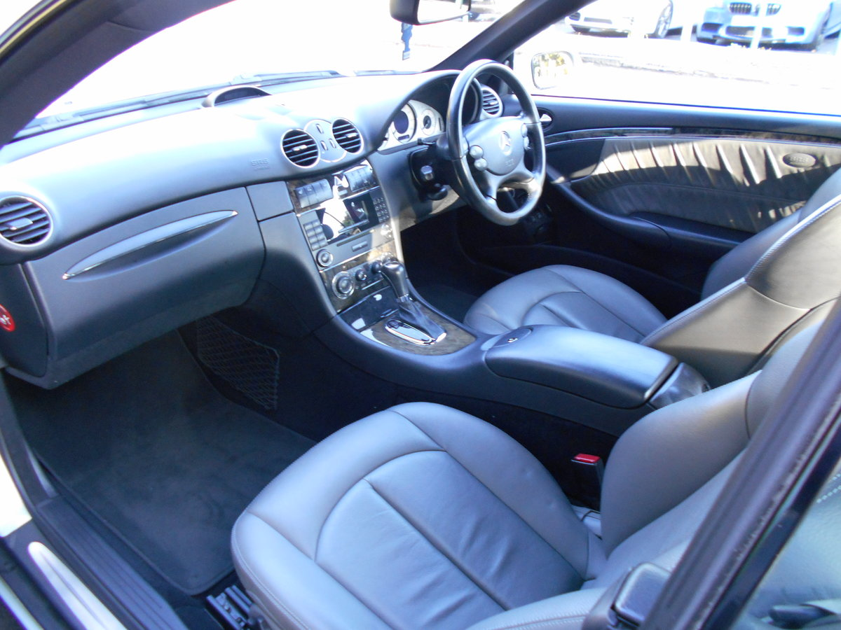 2006 Mercedes CLK 220CDI Coupe Avangarde  SOLD (picture 6 of 6)