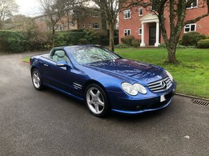 2004 Mercedes Benz SL 350 AMG Panoramic Blue Grey Lthr