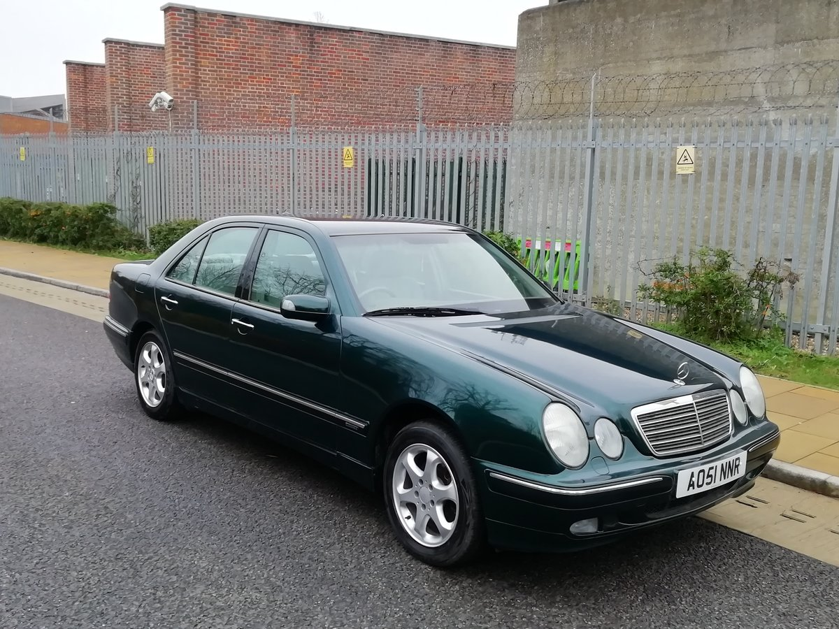 2002 Mercedes  E Class Beautiful. Low miles. Long mot For Sale (picture 3 of 6)