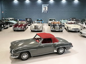 1959 MERCEDES 190 SL JUST TOTALLY RESTORED