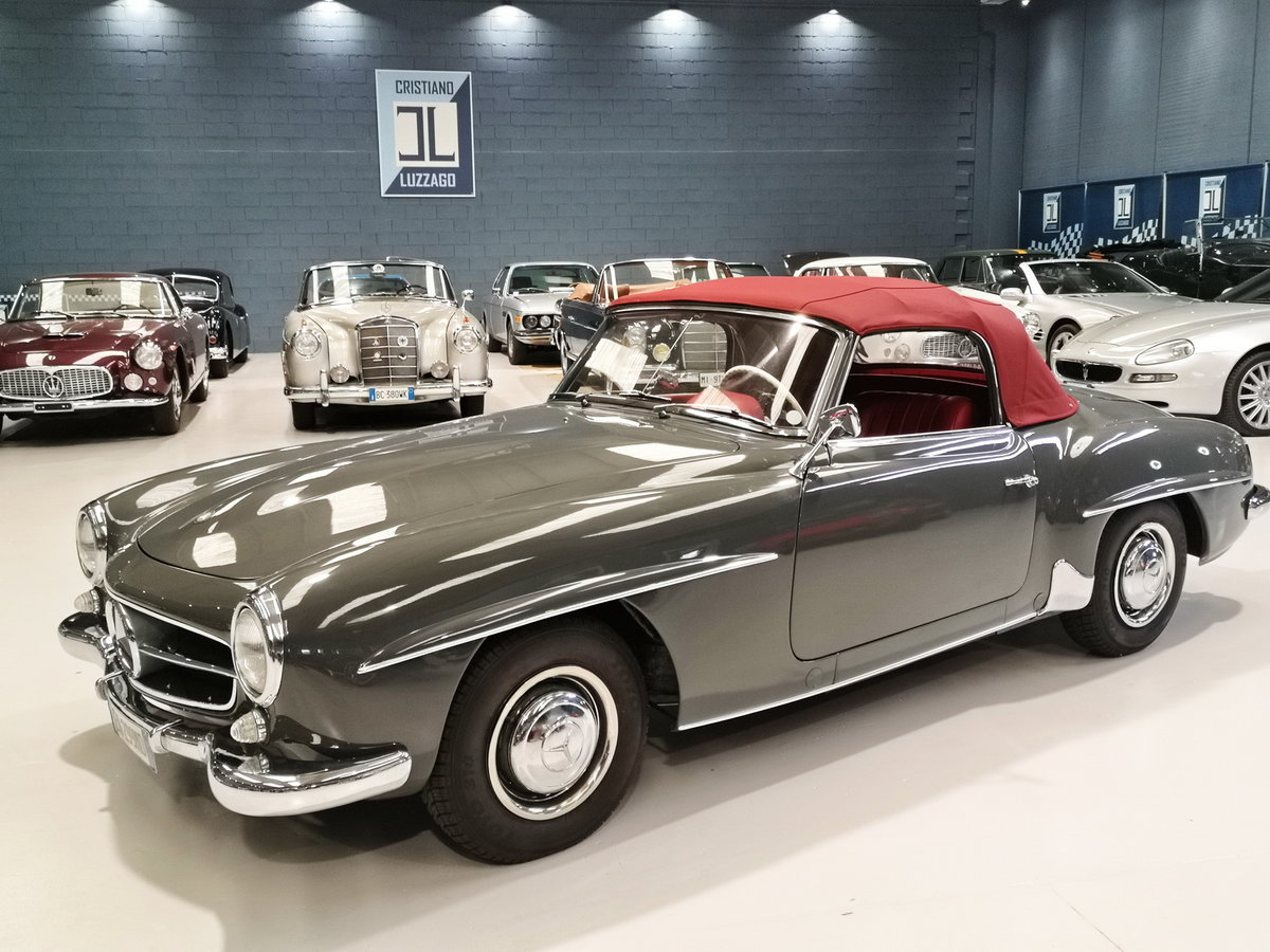 1959 MERCEDES 190 SL JUST TOTALLY RESTORED For Sale (picture 3 of 6)