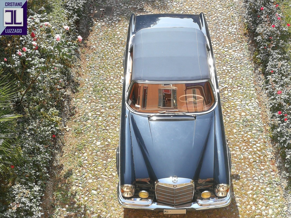 A LEGENDARY CRUISER, WONDERFUL 1964 MERCEDES 220 SE CONVERTI For Sale (picture 5 of 6)