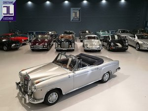 1957 MERCEDES BENZ 220 S CONVERTIBILE PONTON For Sale