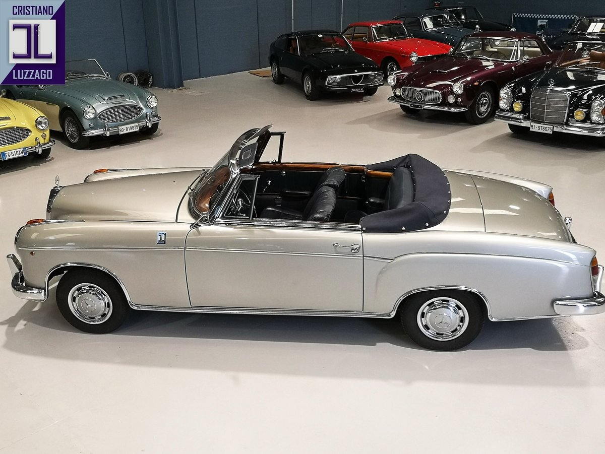 1957 MERCEDES BENZ 220 S CONVERTIBILE PONTON For Sale (picture 2 of 6)