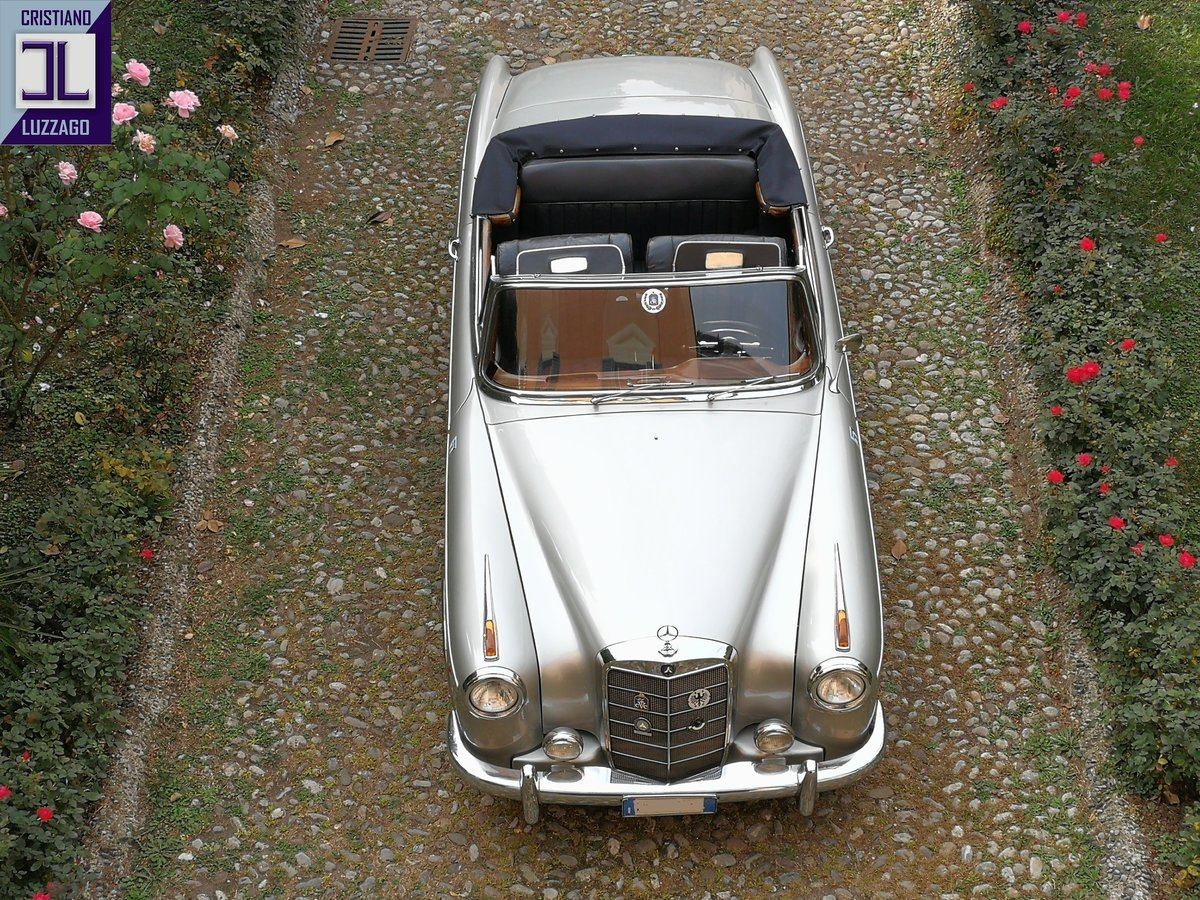 1957 MERCEDES BENZ 220 S CONVERTIBILE PONTON For Sale (picture 4 of 6)