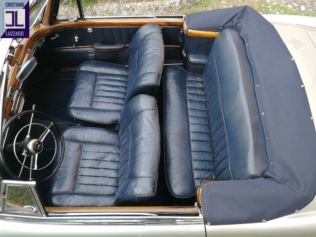 1957 MERCEDES BENZ 220 S CONVERTIBILE PONTON For Sale (picture 5 of 6)