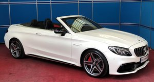 2018 Mercedes C63s AMG Premium Convertible SOLD