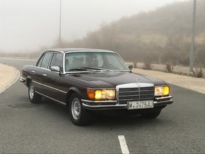 1974 MERCEDES 350 SE W 116 For Sale