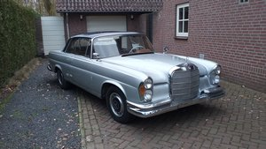 1962 Mercedes W111 220 Se coupe For Sale