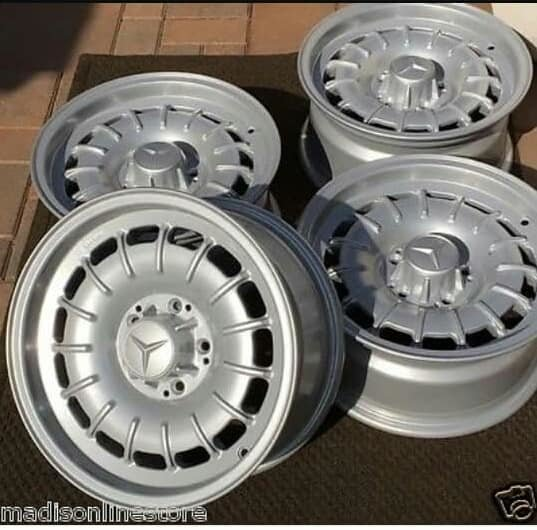1980 MERCEDES  VINTAGE ALLOY WHEELS  For Sale (picture 1 of 1)